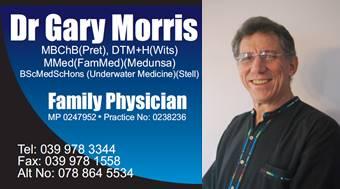 Dr Gary Morris
